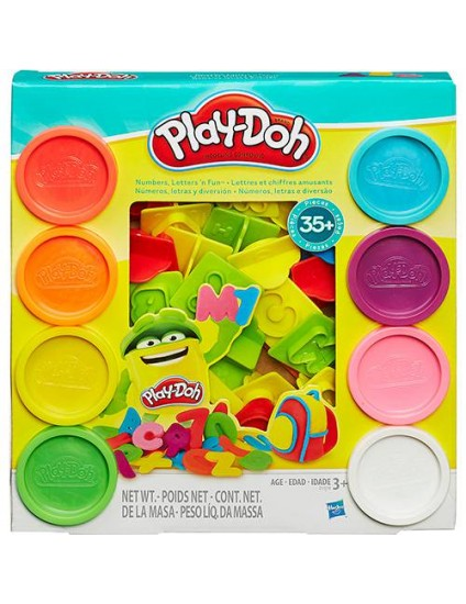 Conjunto Play-Doh Letras e Números - Hasbro