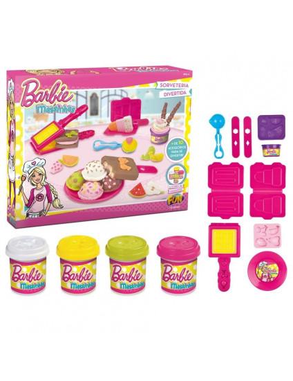Massinhas Barbie Soverteria Divertida - Fun