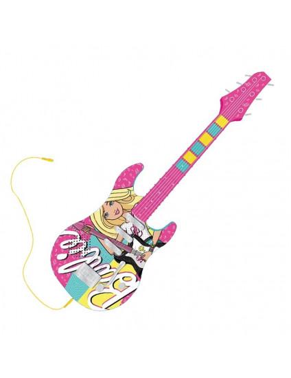 Guitarra Barbie Fabulosa com Função Mp3Player - Fun