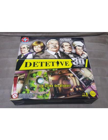 Jogo de Tabuleiro Detetive 3D - ESTRELA