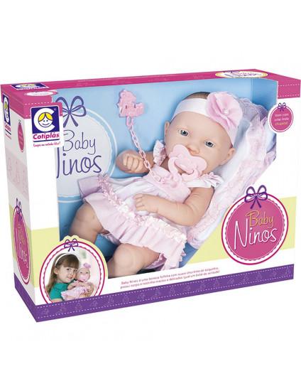 Boneca Baby Ninos - Cotiplas