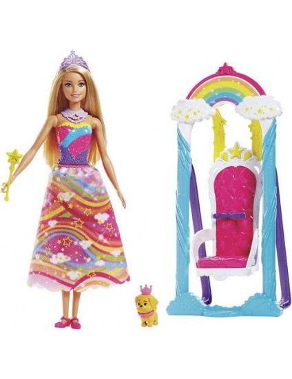 Barbie Dreamtopia Balanço Arco Íris - Mattel