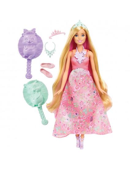 Boneca Barbie Princesa Fan Cabelos Coloridos - Mattel