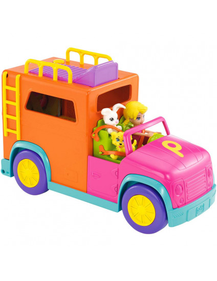 Polly Pocket Carro de Acampar - Mattel