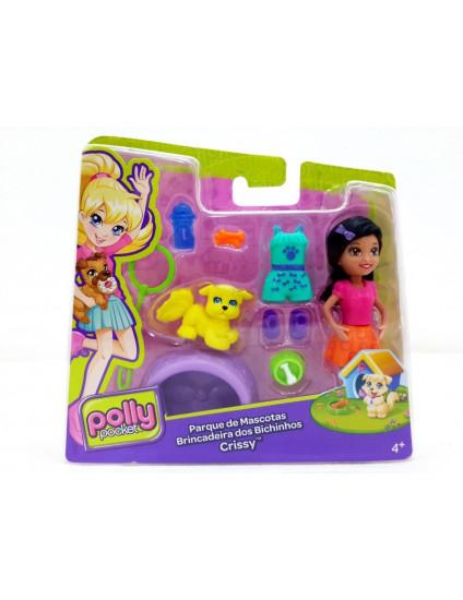 Boneca Polly Pocket Parque de Mascotas Crissy - Mattel
