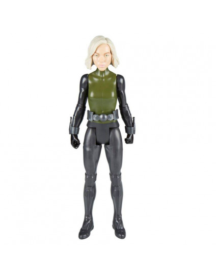 Avengers Figura 12 Titan Hero Power FX Black Widow - Hasbro