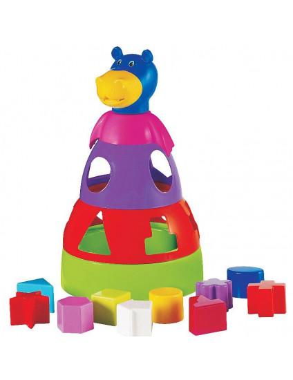 Hipopótamo Didático - MercoToys
