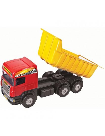 Caminhão Super Caçamba Vermelho