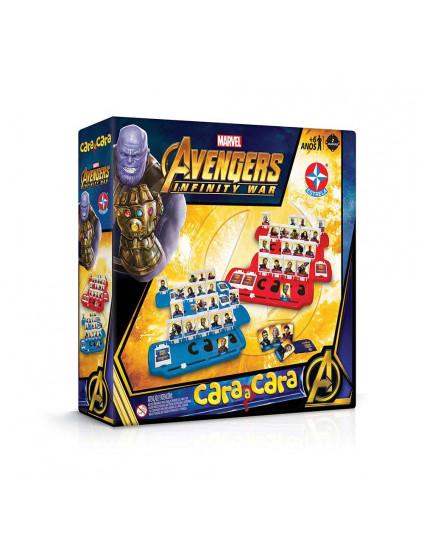Cara a Cara Avengers Guerra Infinita - Estrela