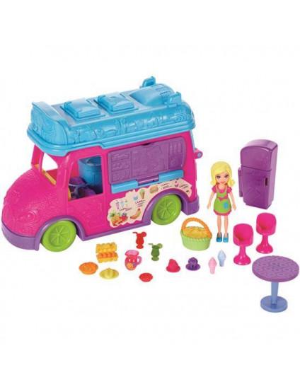 Food Truck  2 em 1 Polly  Pocket  - Mattel