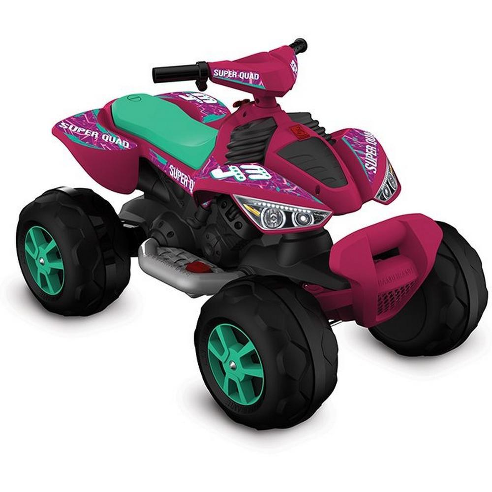 Quadriciclo Elétrico 12V Pink - 2733 - Bandeirante