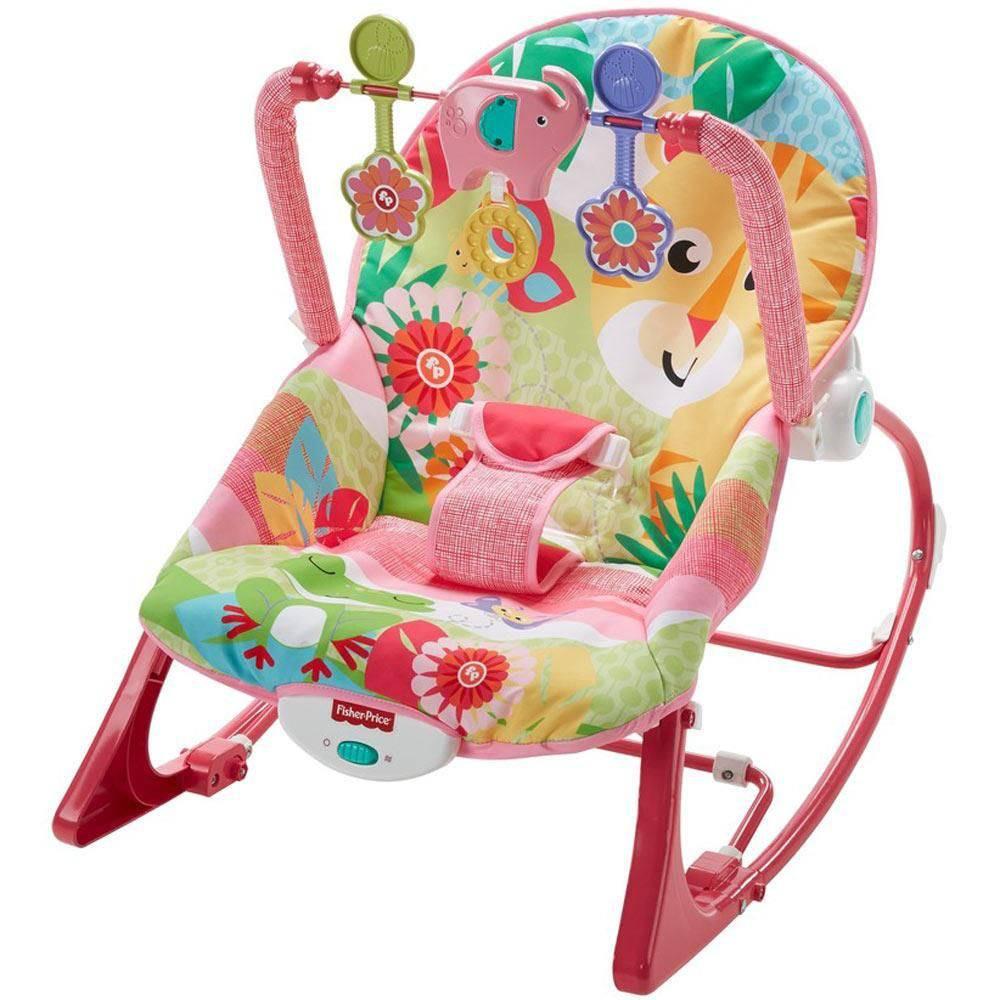 Cadeira de Balanço Minha Infância Rosa - Mattel