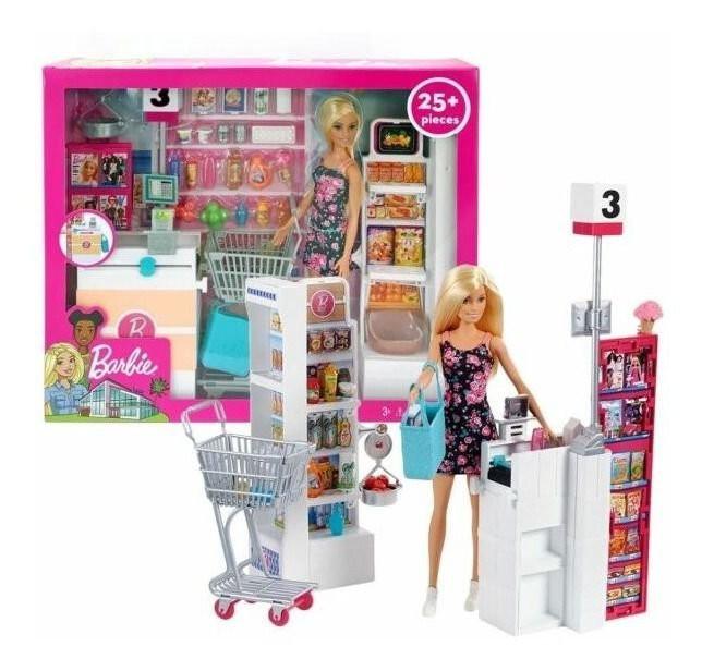 Supermercado de Luxo da Barbie Frp01 - Mattel