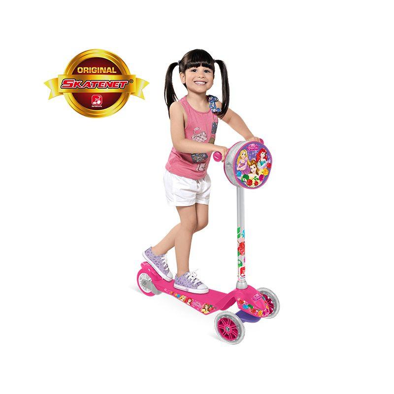 Patinete Skatenet Disney Princesas - Bandeirante