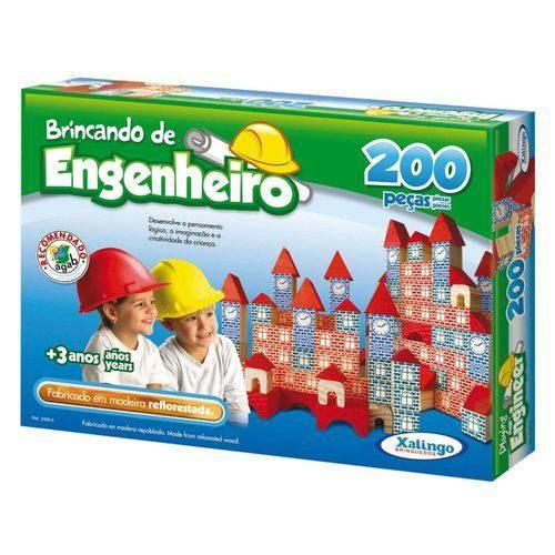 Brincando de Engenheiro 200 peças