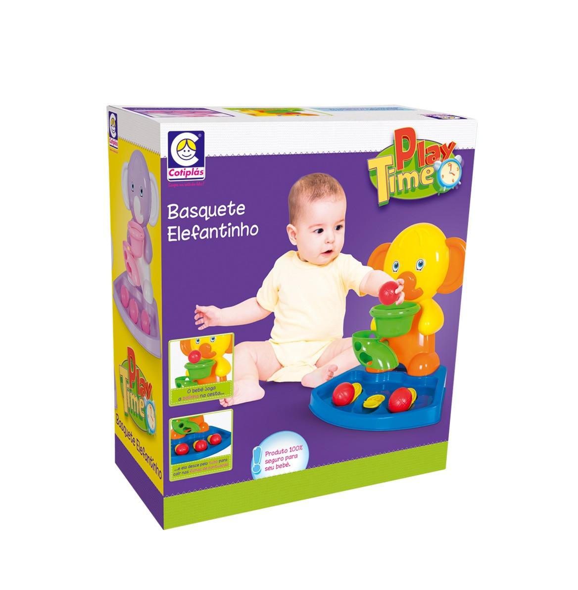 Basquete Elefantinho Amarelo - Play Time