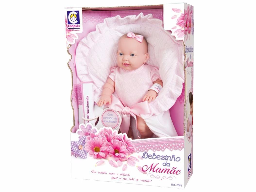 Boneca Bebezinho da Mamae - Cotiplas