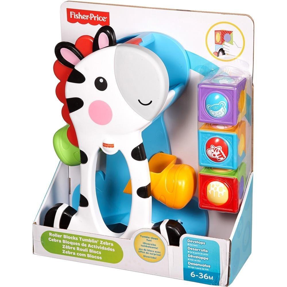 Blocos de Brinquedos Zebra - Fisher Price