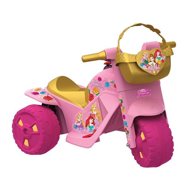 Moto Princesas Disney Elétrica 6V