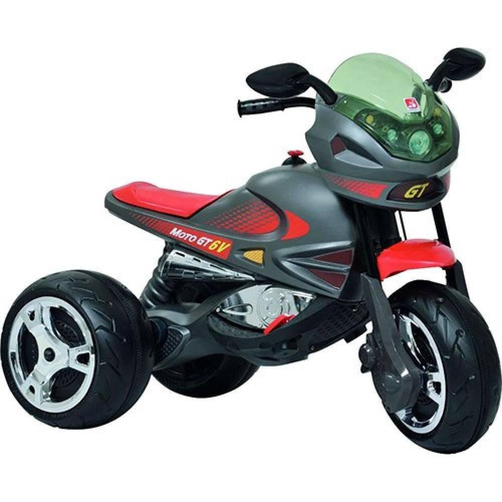 Moto Elétrica Infantil Super Moto Elétrica GP Grafite 6v - Bandeirante