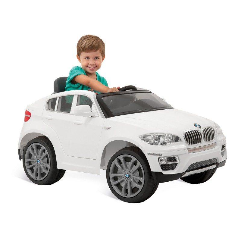 Carro BMW X6 Branca -Eletrico 6v