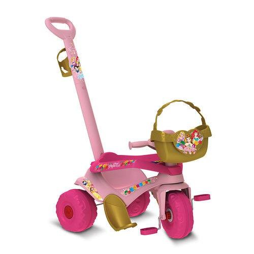 Velocípede  Passeio e Pedal Princesas Disney - Bandeirante