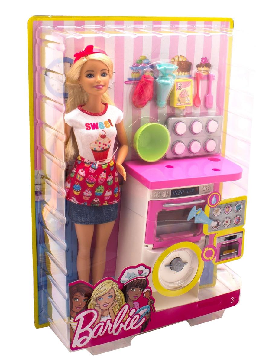 Boneca Barbie Chef de Bolinhos - Mattel