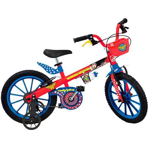 Bicicleta Aro 16 Mulher Maravilha - 2365 - Bandeirantes