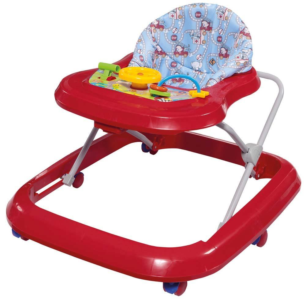 Andador Toy Vermelho - Tutti baby
