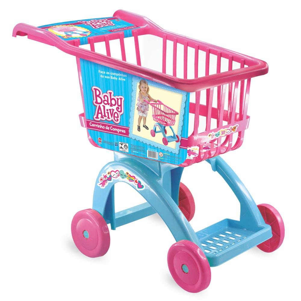 Carrinho De Compras Supermercado Baby Alive - LIDER