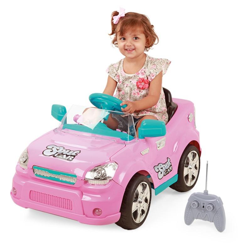 Carro Elétrico c/ Controle SoutCar Pink - Xplast