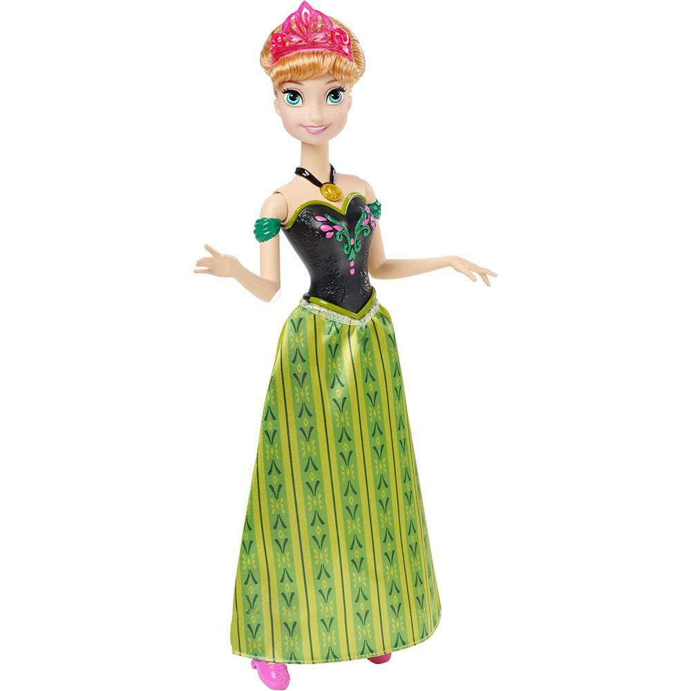 Boneca Anna Musical Disney Frozen  - Mattel