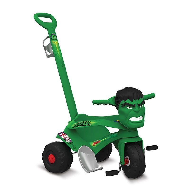 Triciclo Velocipede Passeio e Pedal Hulk - Bandeirante