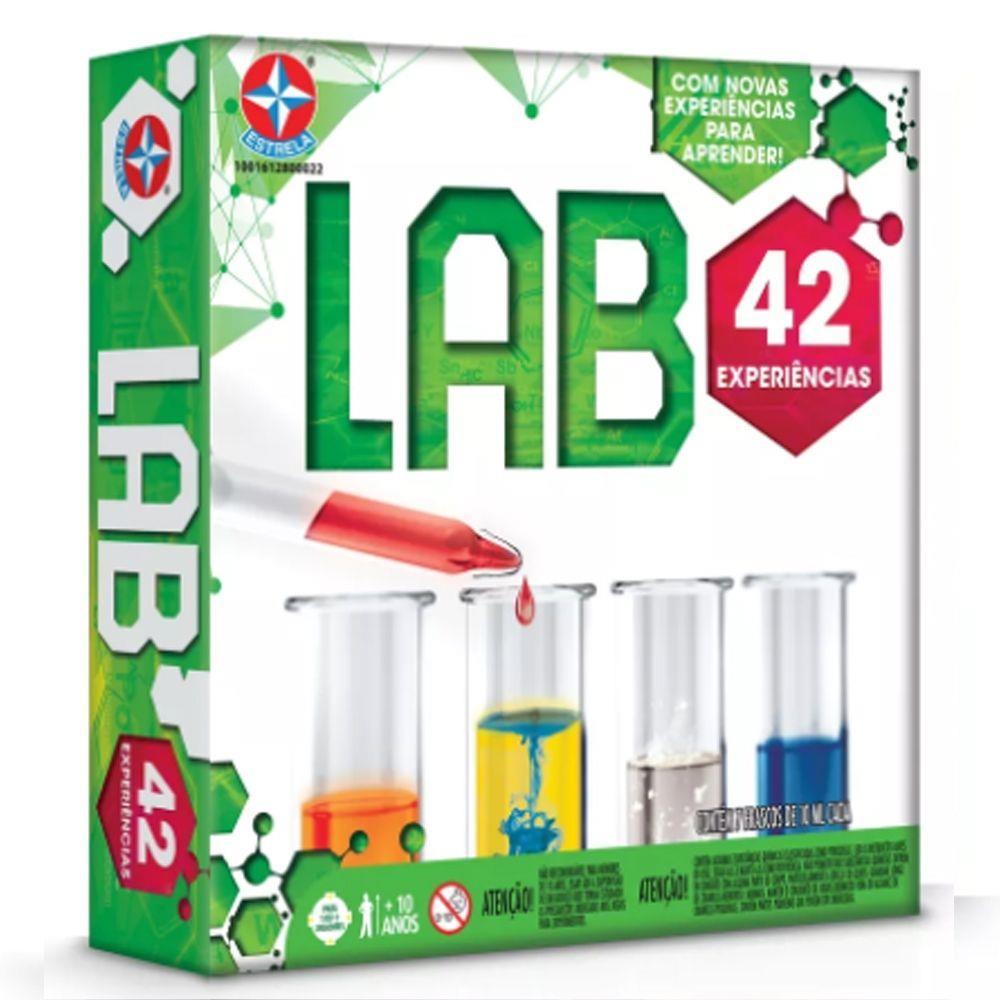Jogo Laboratorio 42 Experiências - Estrela