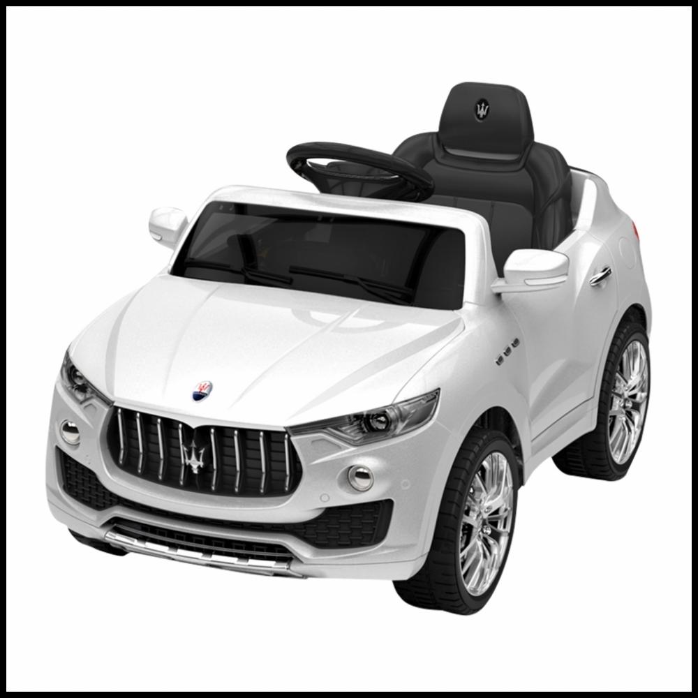 Carro Eletrico Infantil Maserati 6Volts Branco - Xalingo