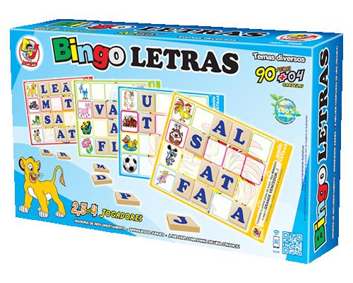 Brinquedo Educativo Bingo Letras - Junges