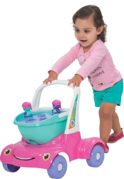 Bebê Passeio Didático Menina - MercoToys