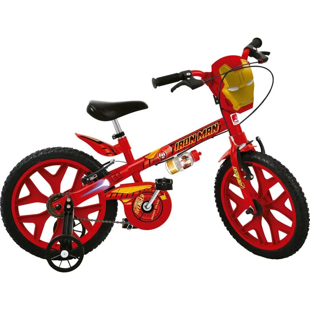 Bicicleta Aro 16 Homem de Ferro - Bandeirante