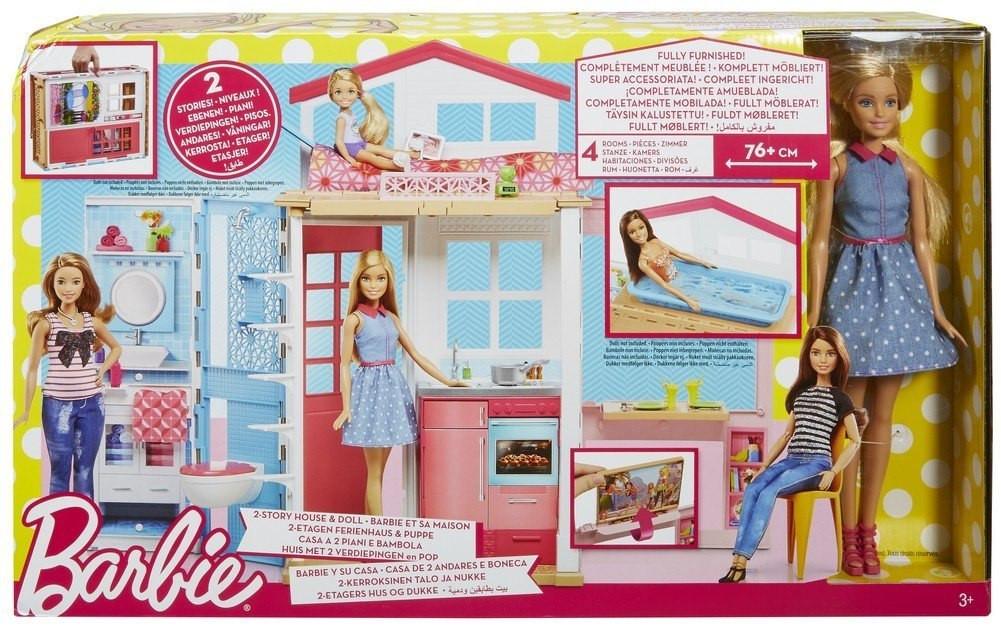 Boneca Barbie - Barbie E Sua Casa  - Mattel