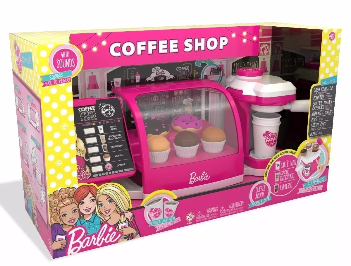 Barbie Cafeteira Fabulosa - 8169-9 - Fun