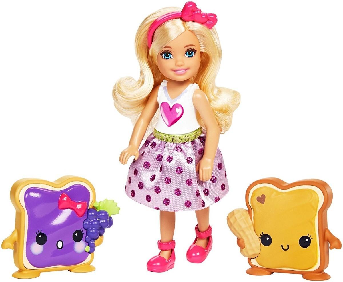 Barbie Fan Sort Chelsea e Amigas - Mattel