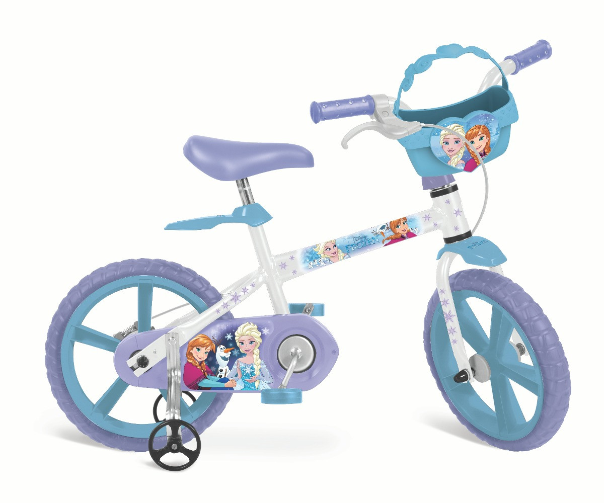 Bicicleta Aro 14 Frozen - Bandeirante