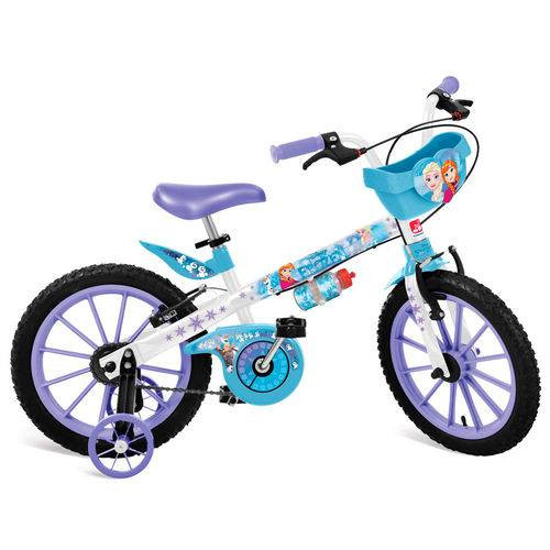Bicicleta Aro 16 Frozen Disney - 2499 - Bandeirante