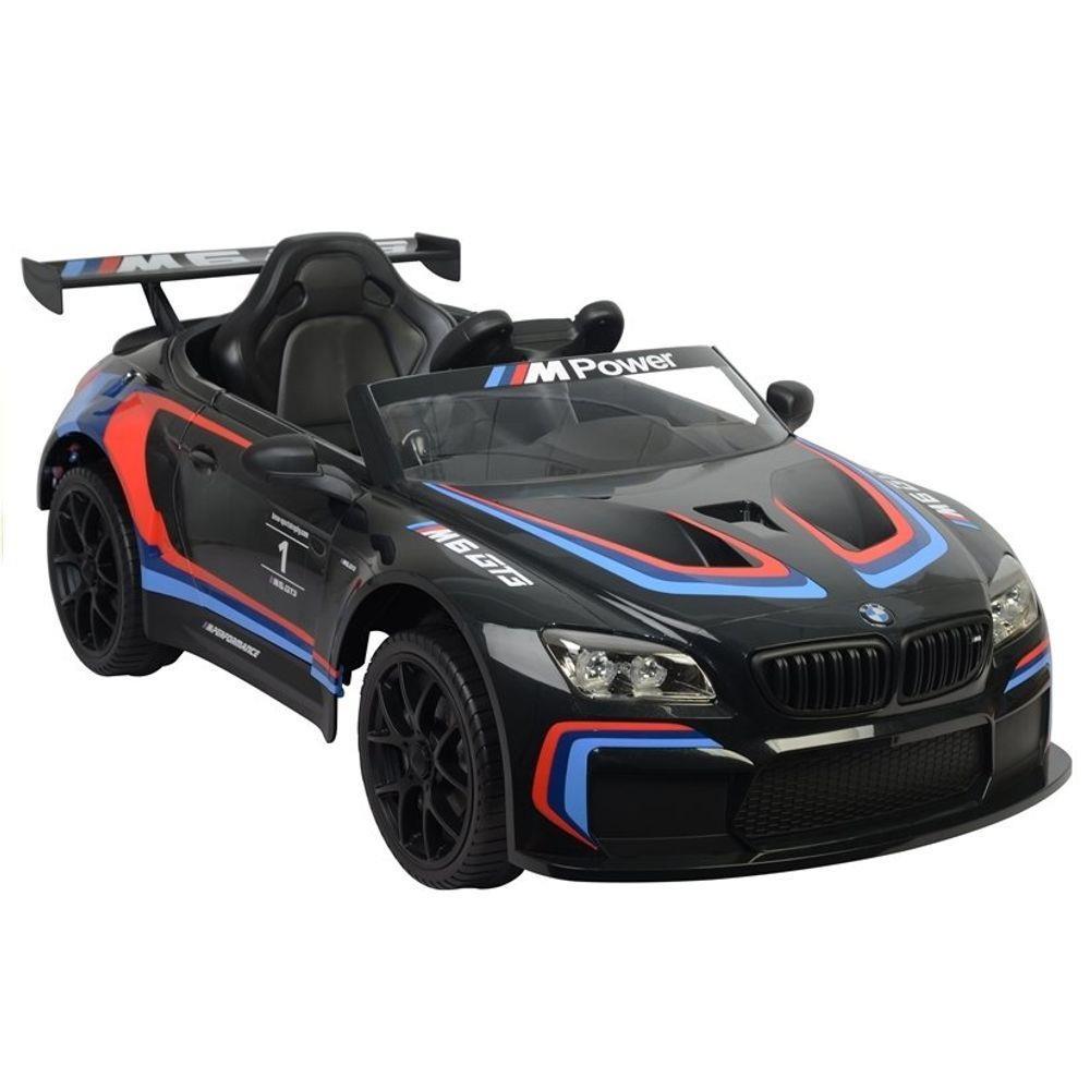 Veículo Elétrico com Controle - 12V - BMW M6 GT3 - Preto - Bandeirante 2654