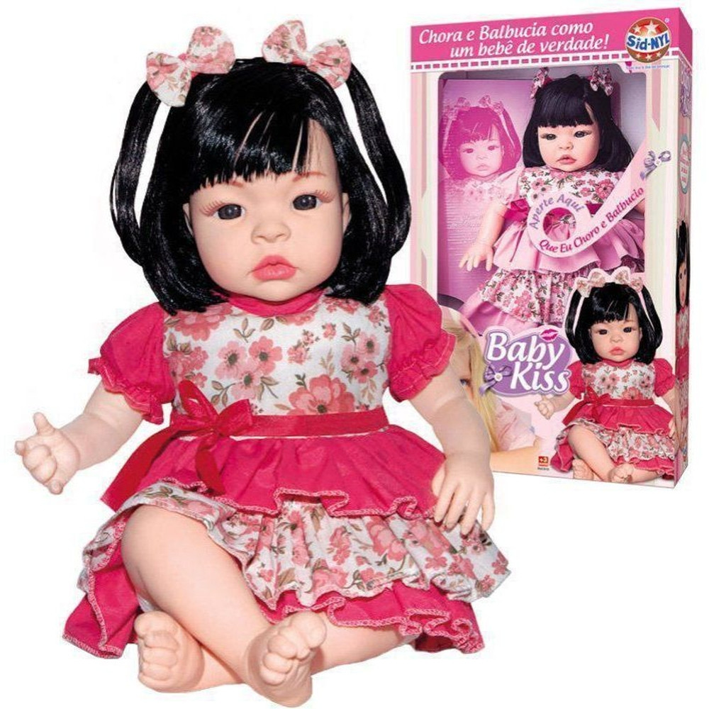 Boneca Baby Kiss - Sid-Nyl