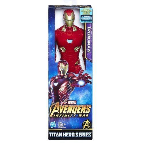 Boneco Titan Hero Series Iron Man - Hasbro
