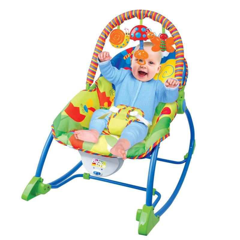 Cadeira Repouso Vibratoria Selva - Baby Style