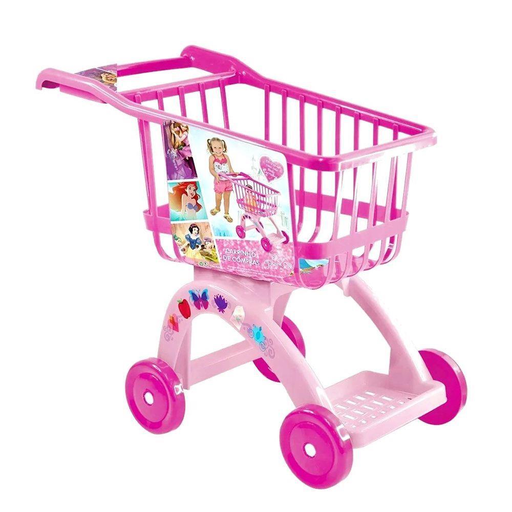 Carrinho de Compras Infantil Princesas - Lider 2784 Lider