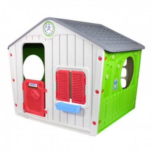 Casinha de Brinquedo Cinza - Belfix