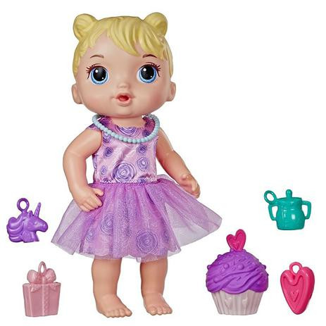 Boneca Baby Alive Festa de Presentes Loira